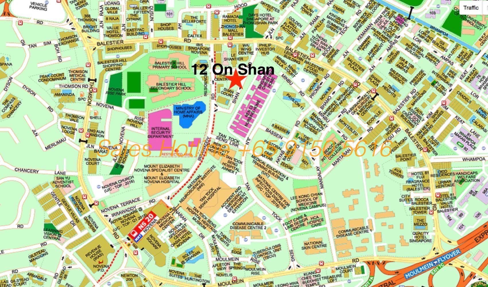 12 On Shan - Location Map
