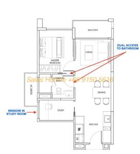 12 On Shan - 1 bedroom + study