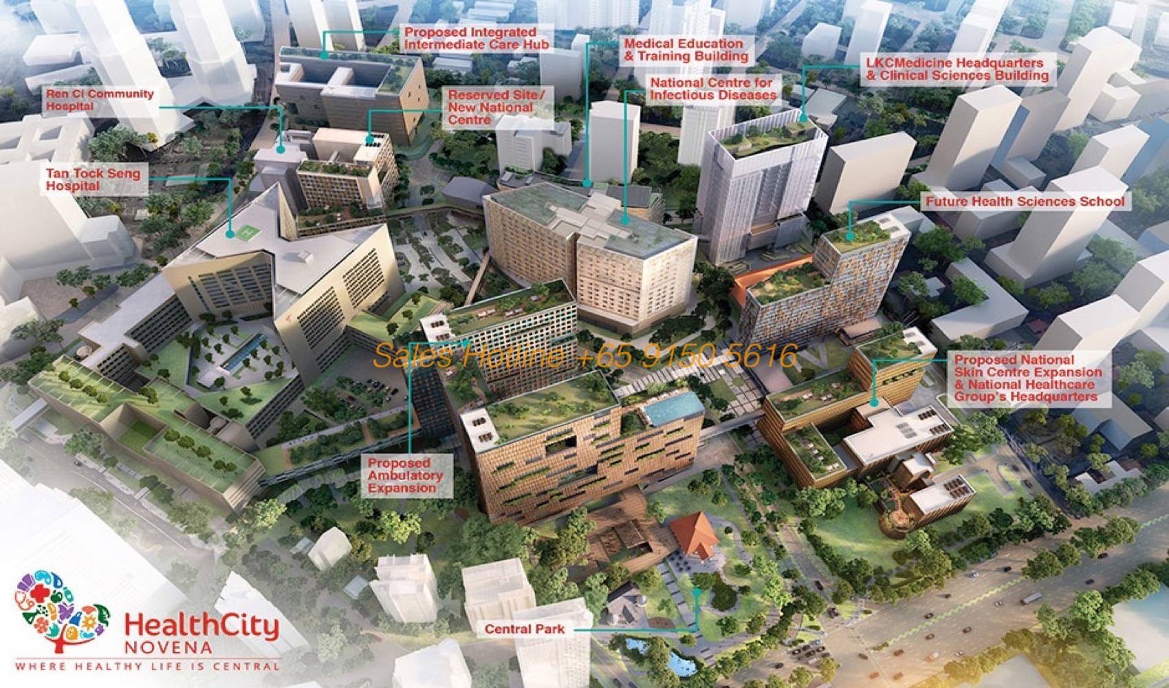 12 on Shan - Health City Novena Masterplan