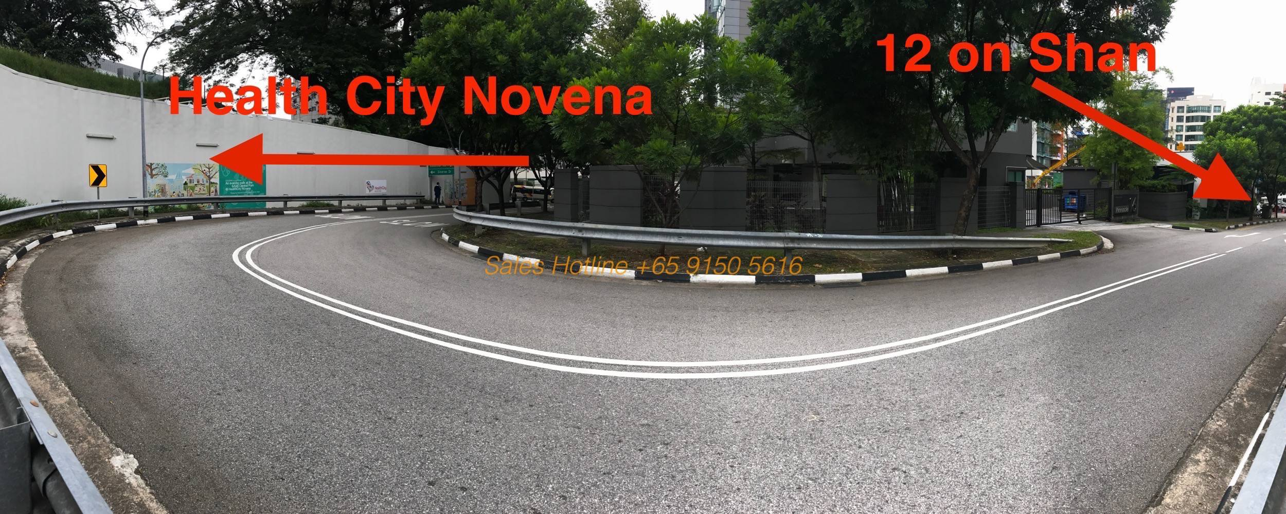 12 on Shan - Health City Novena Distance