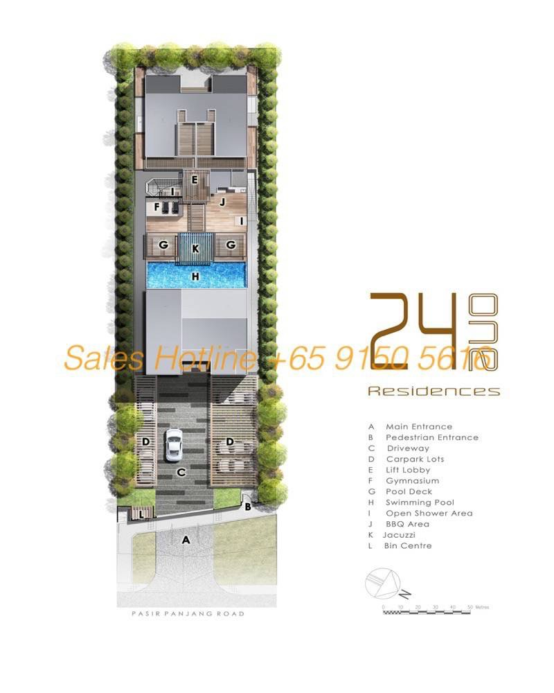 24 One Residences - Site Plan