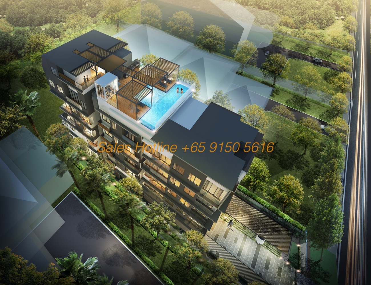 24 One Residences - Top View