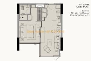 28 Chidlom Site Plan - 1 Bedroom (3)