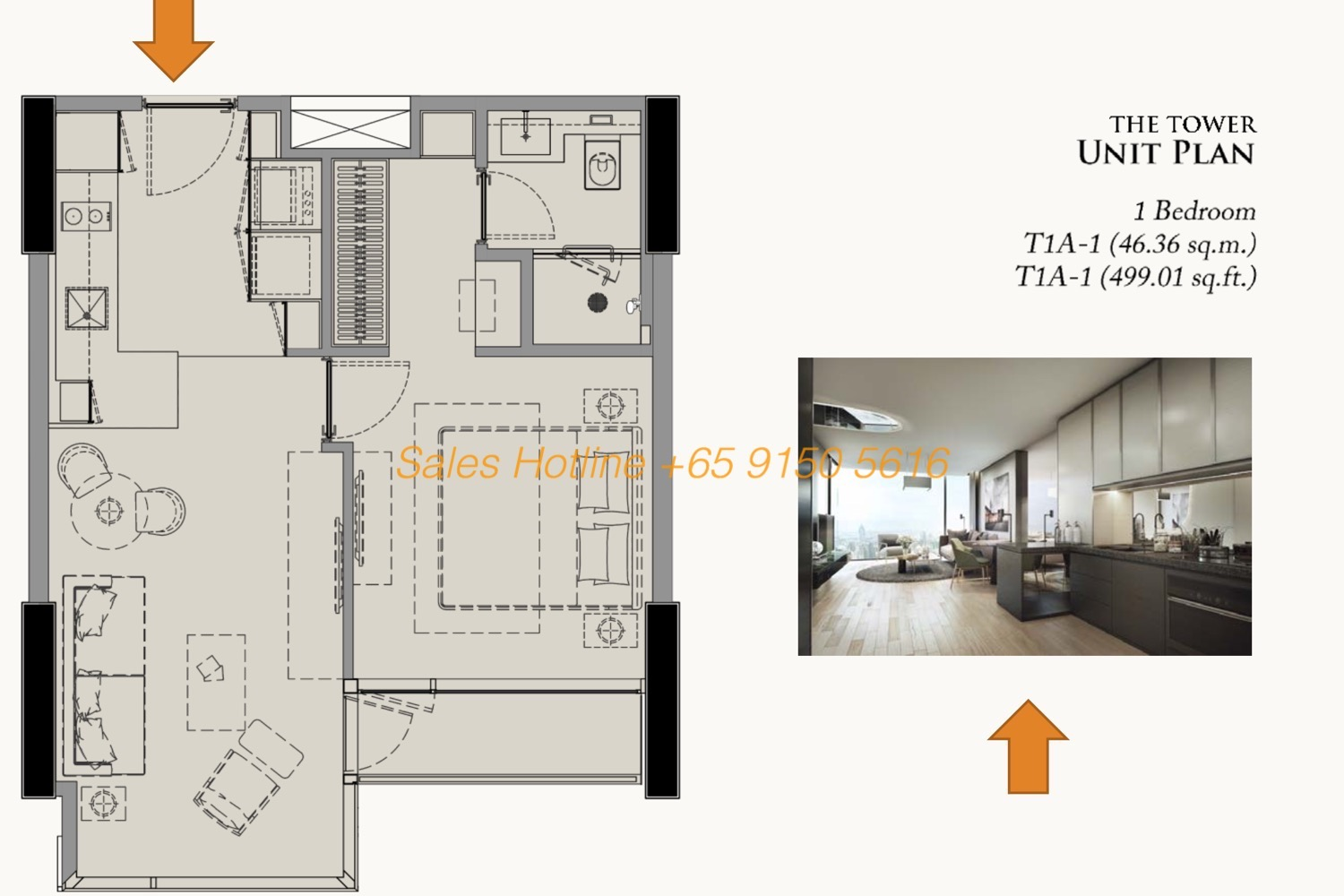 28 Chidlom Site Plan - 1 Bedroom