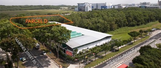 Alps Residences Tampines - Parcel
