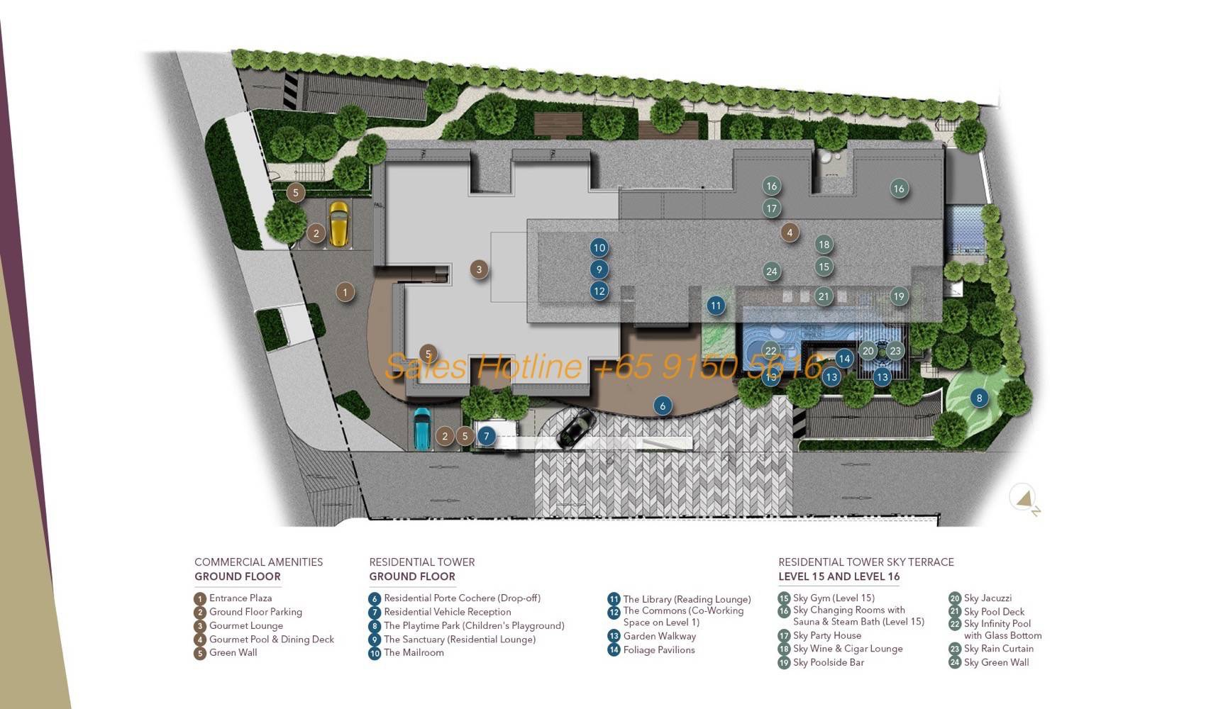 D1mension Capitaland - Facilities Plan