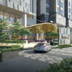 D1mension Capitaland - Residential Porte Cochere