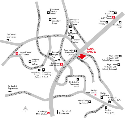 Forest Woods Condo - Location Map