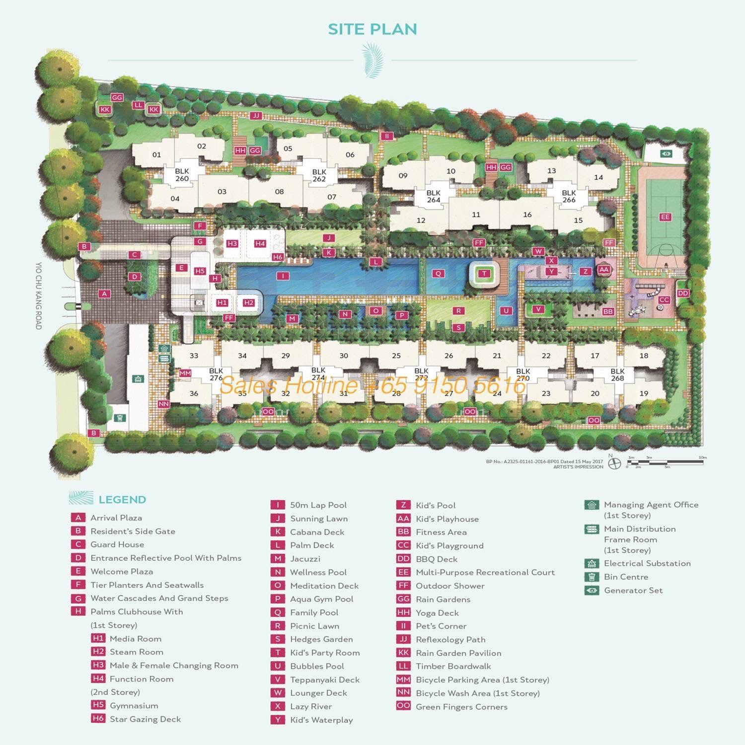 Hundred Palms Residences - Site Plan