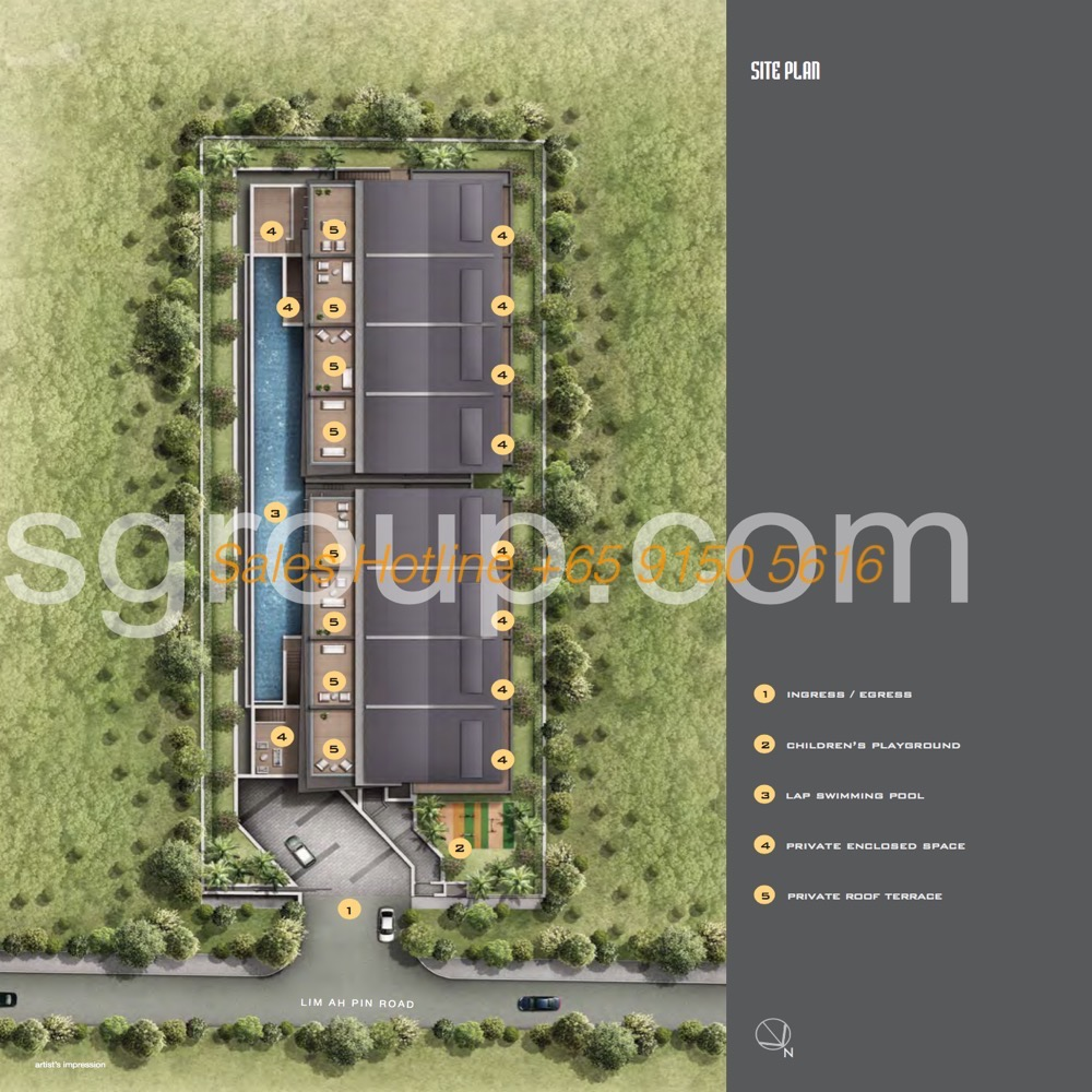 Jazz Residences Lim Ah Pin Site Plan