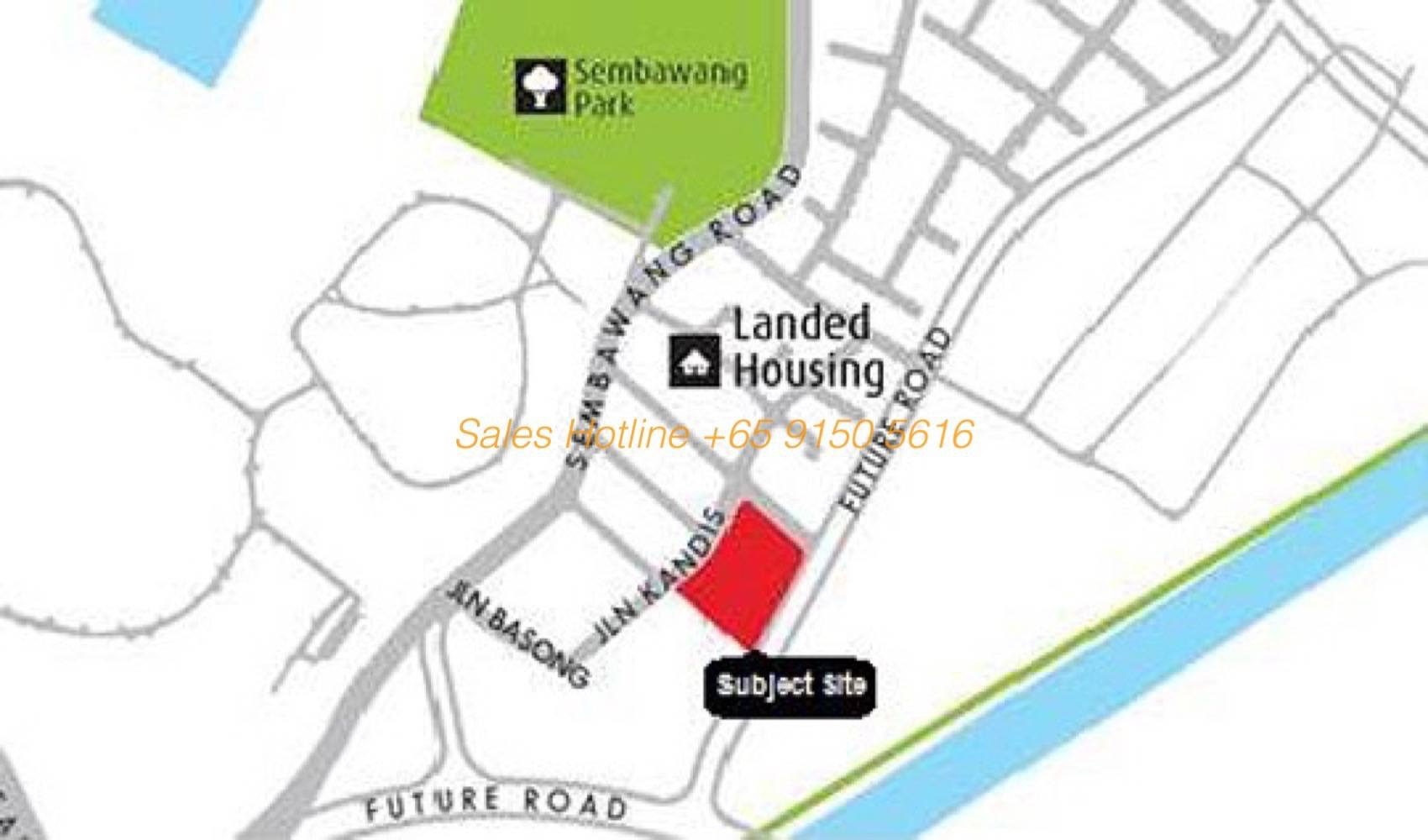 Kandis Residences - Location Map