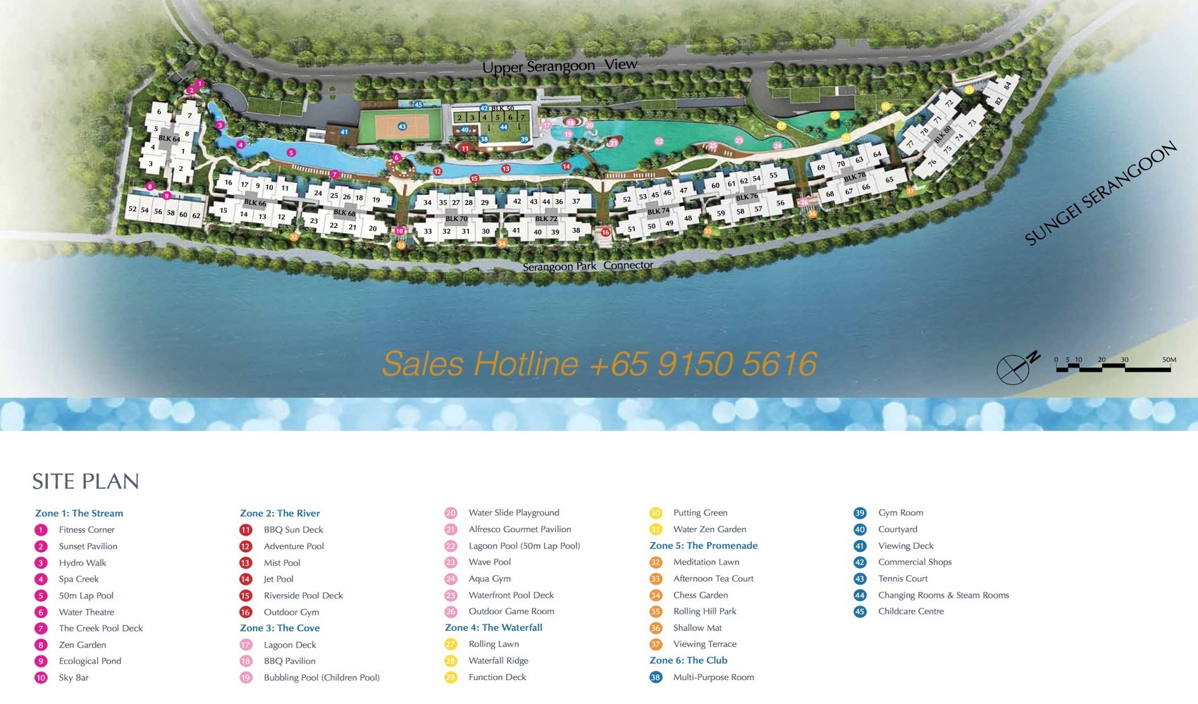 Kingsford Waterbay - Site Plan