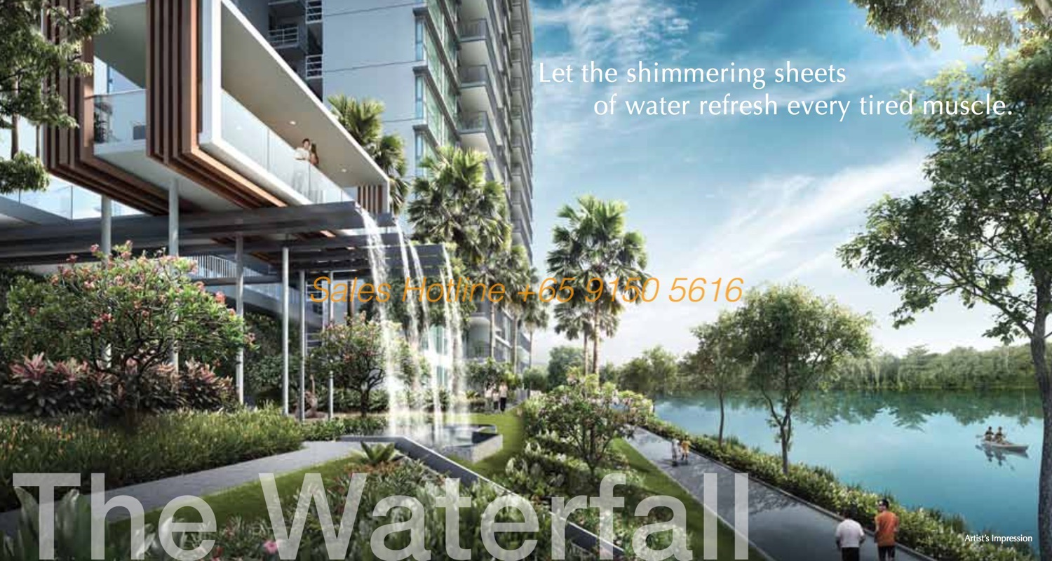 Kingsford Waterbay - The Waterfall