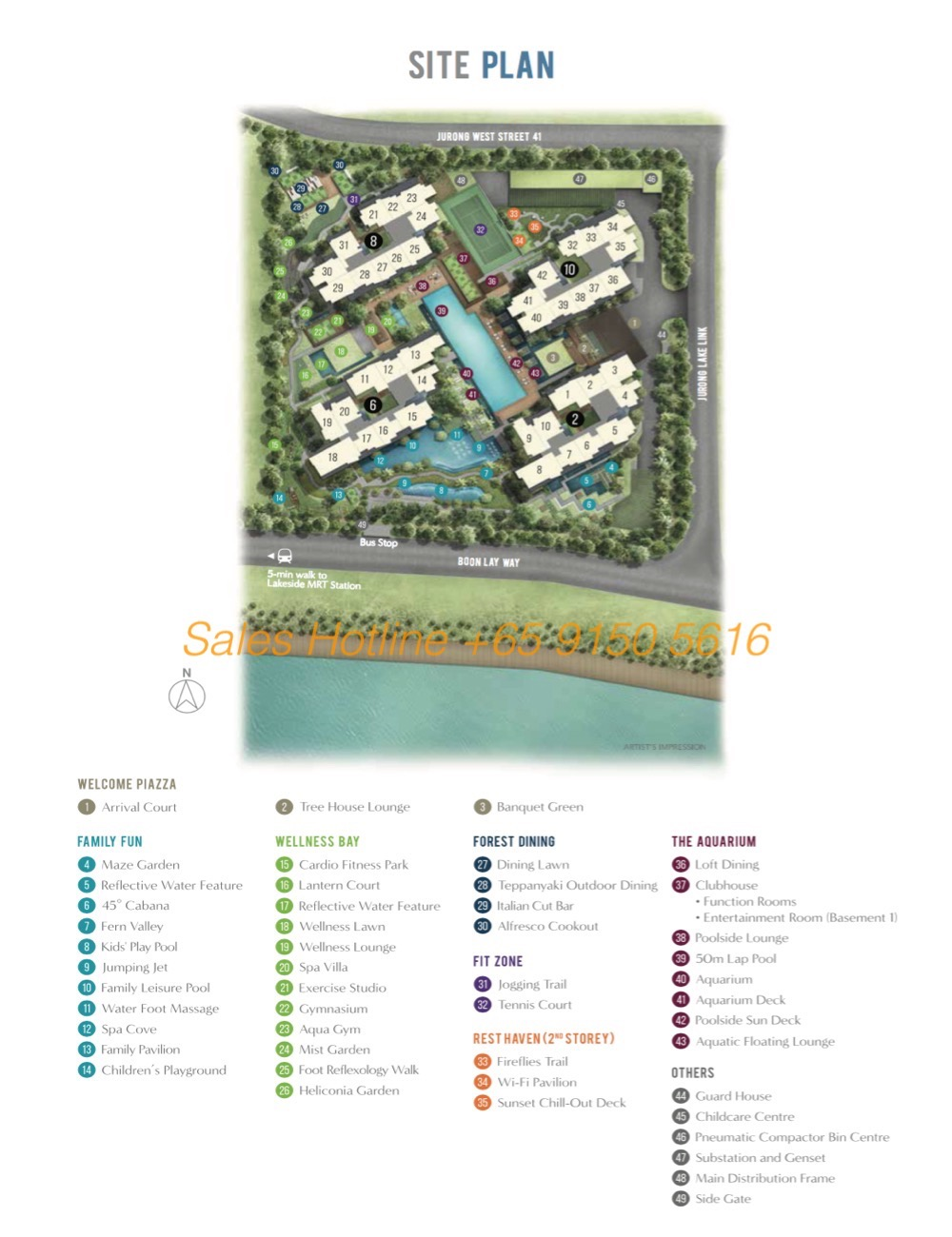 Lake Grande - Site Plan