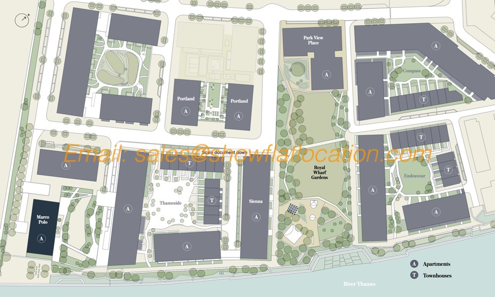 Mariner's Quarter Marco Polo Site Plan