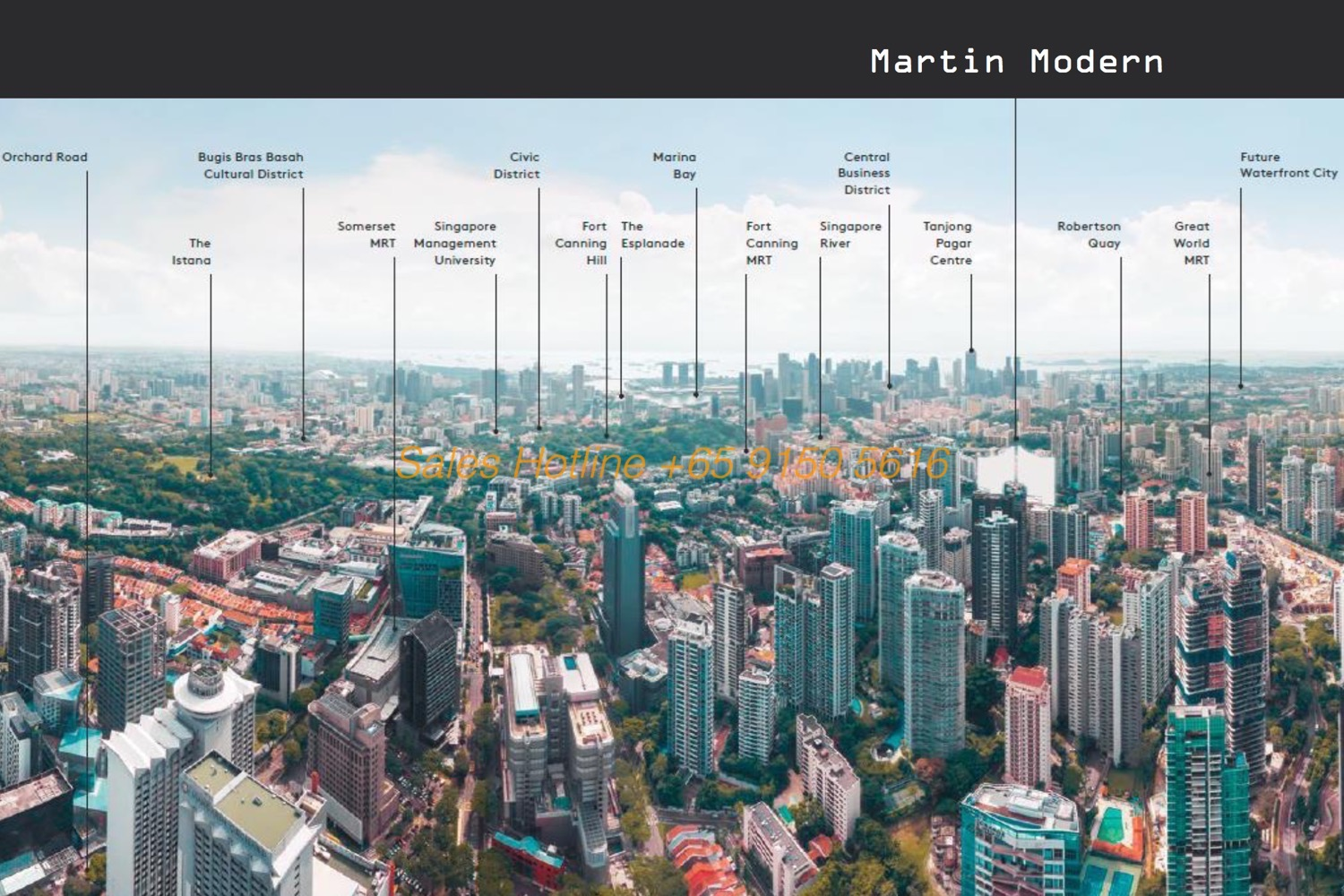 Martin Modern - Location Overview