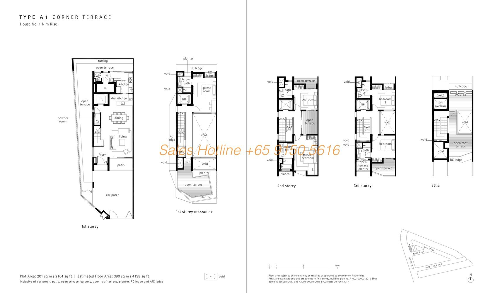 Nim Collection Corner Terrace Floor Plan