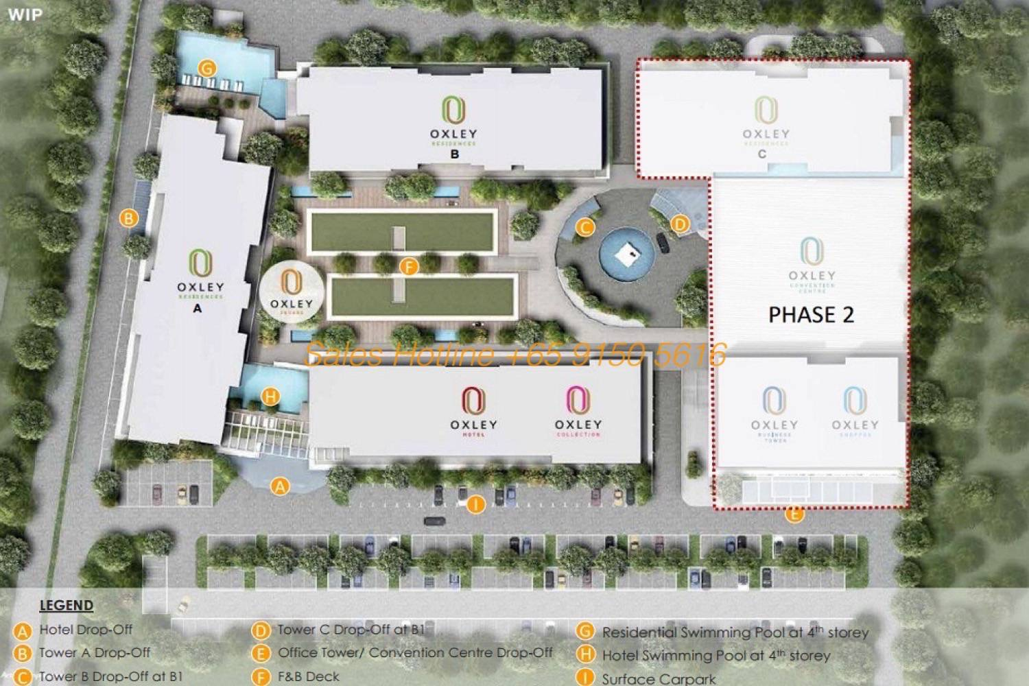 Oxley Convention City Batam - Site Plan