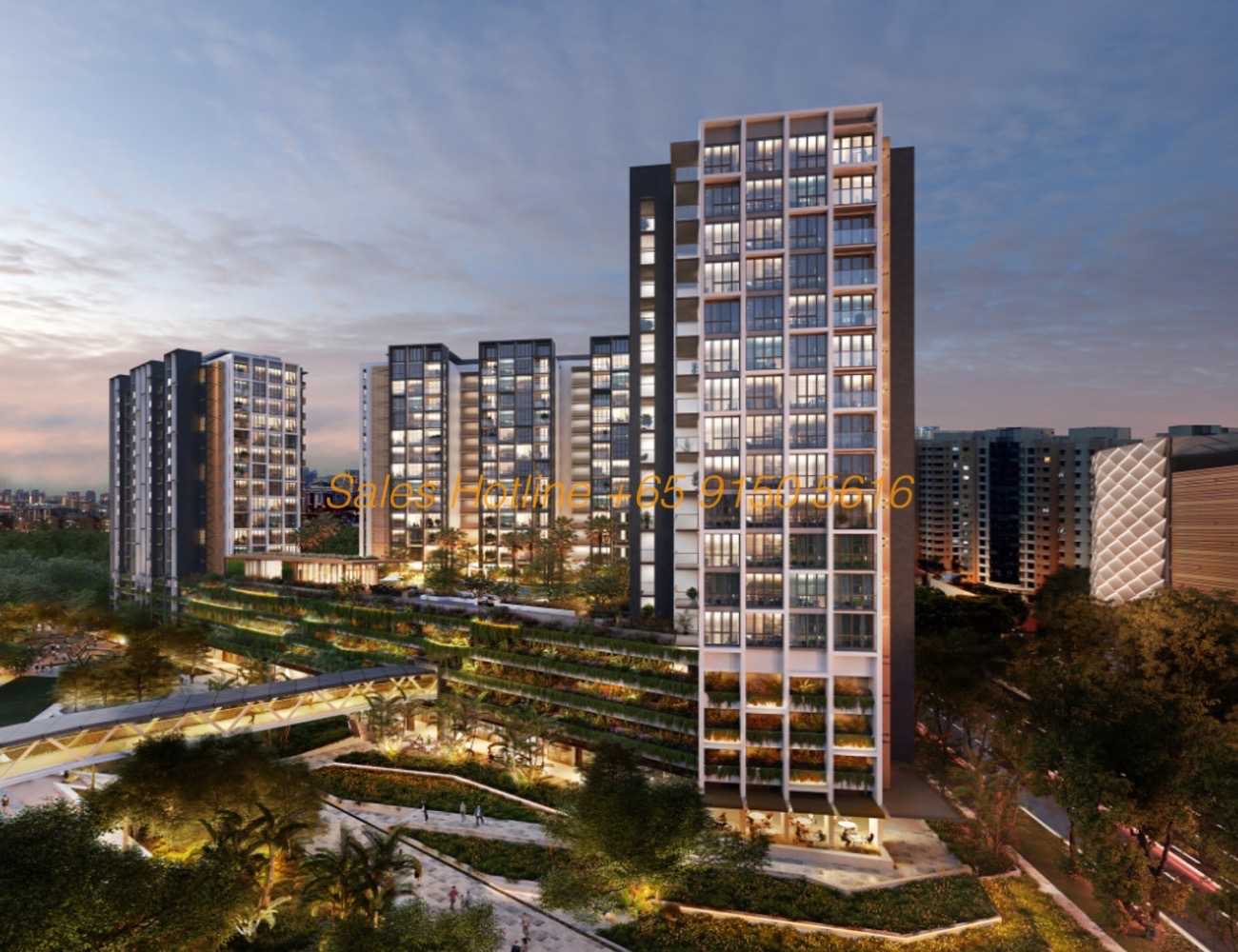 Park Place Residences - Night