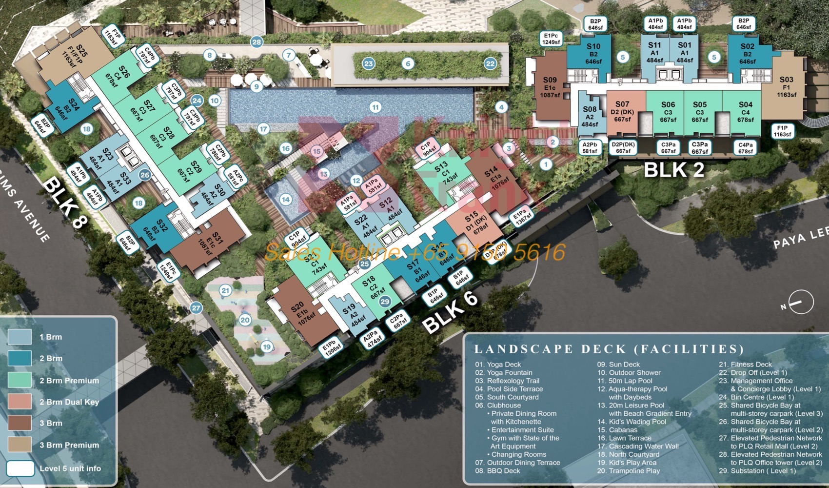 Park Place Residences - Site Plan