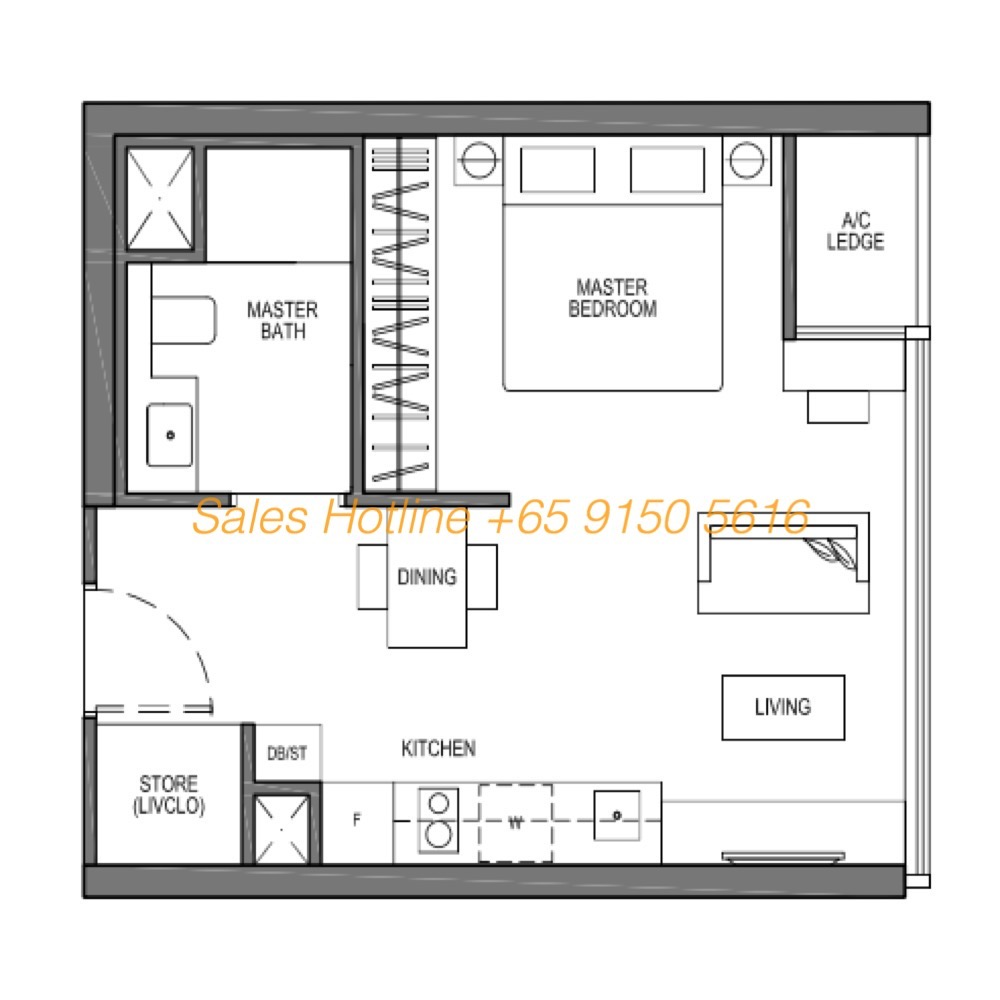 Seaside Residences Floor Plan - Suites