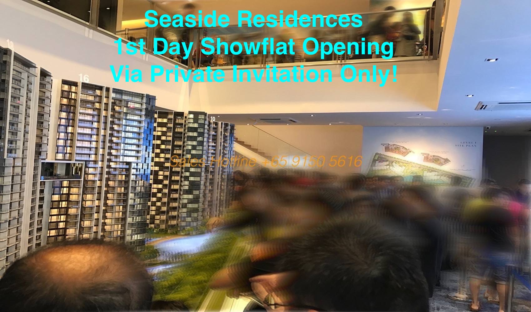 Seaside Residences Showflat Opening