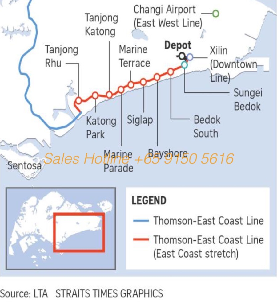 Seaside Residences - Thomson East Coast Line MRT