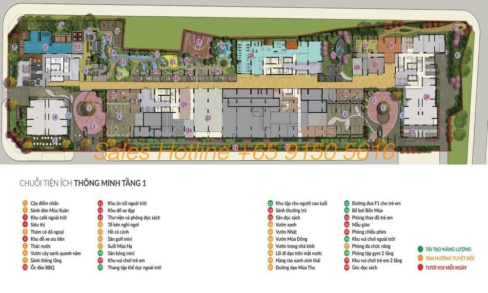 Seasons Avenue Hanoi CapitaLand - Site Plan