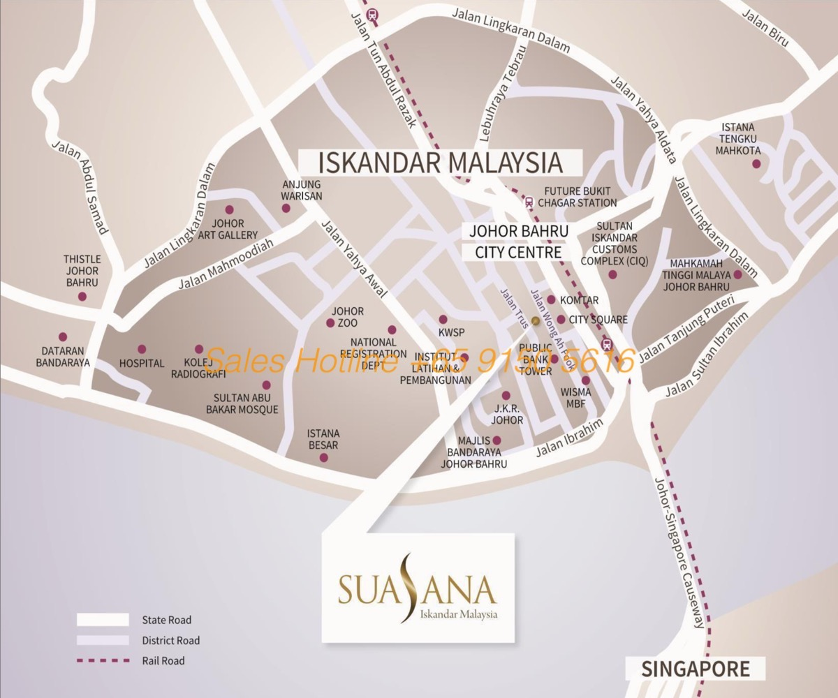 suasana-iskandar-location-map