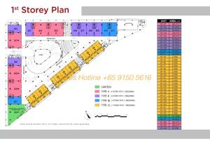 T-Space Floor Plan - 1st Storey