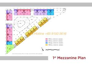 T-Space Floor Plan - 1st Storey Mezzanine