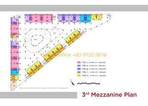 T-Space Floor Plan - 3rd Storey Mazzanine
