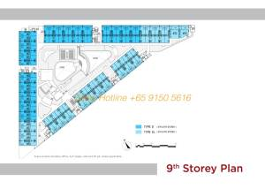 T-Space Floor Plan - 9th Storey