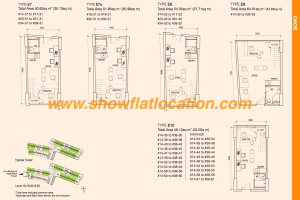 The Bridge Cambodia SOHO Floor Plan 2