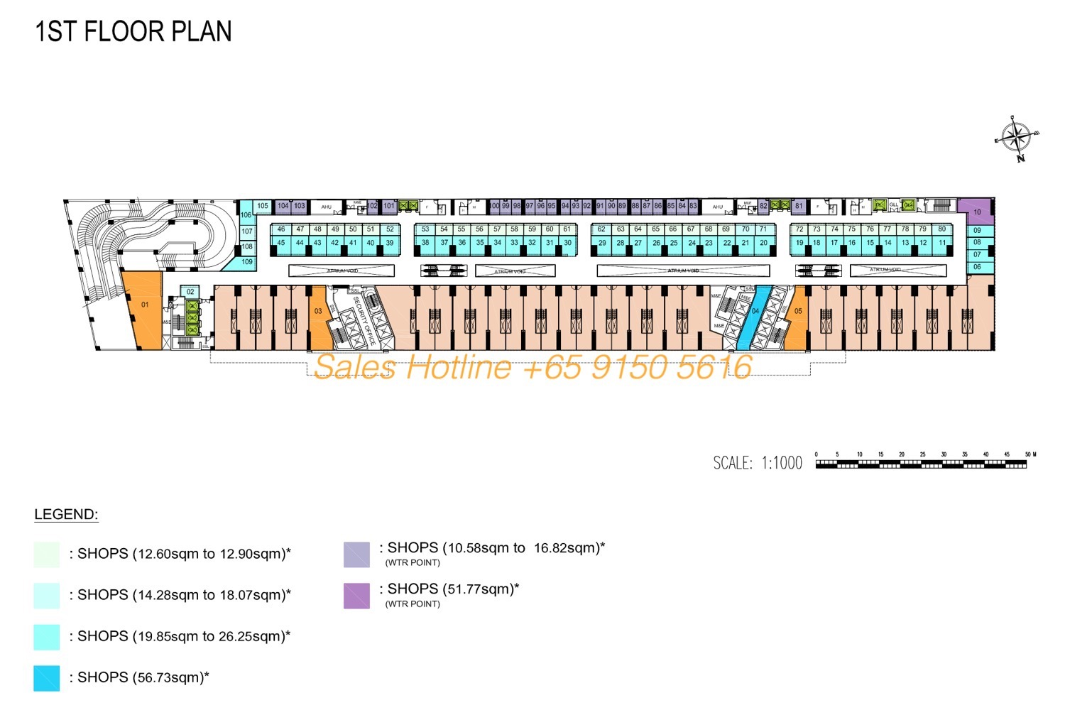 The Bridge Camobodia - Retail Site Plan 1st Floor