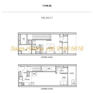 The Colony Floor Plan - Type B1