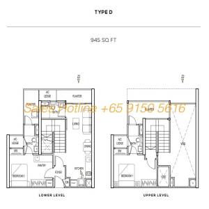The Colony Floor Plan - Type D