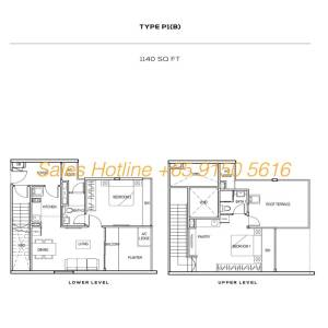 The Colony Floor Plan - Type P1(B)