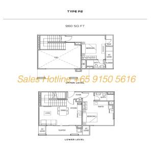 The Colony Floor Plan - Type P2