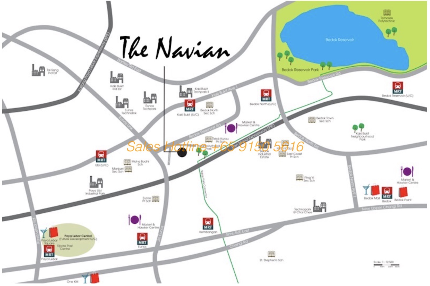The Navian - Location Map