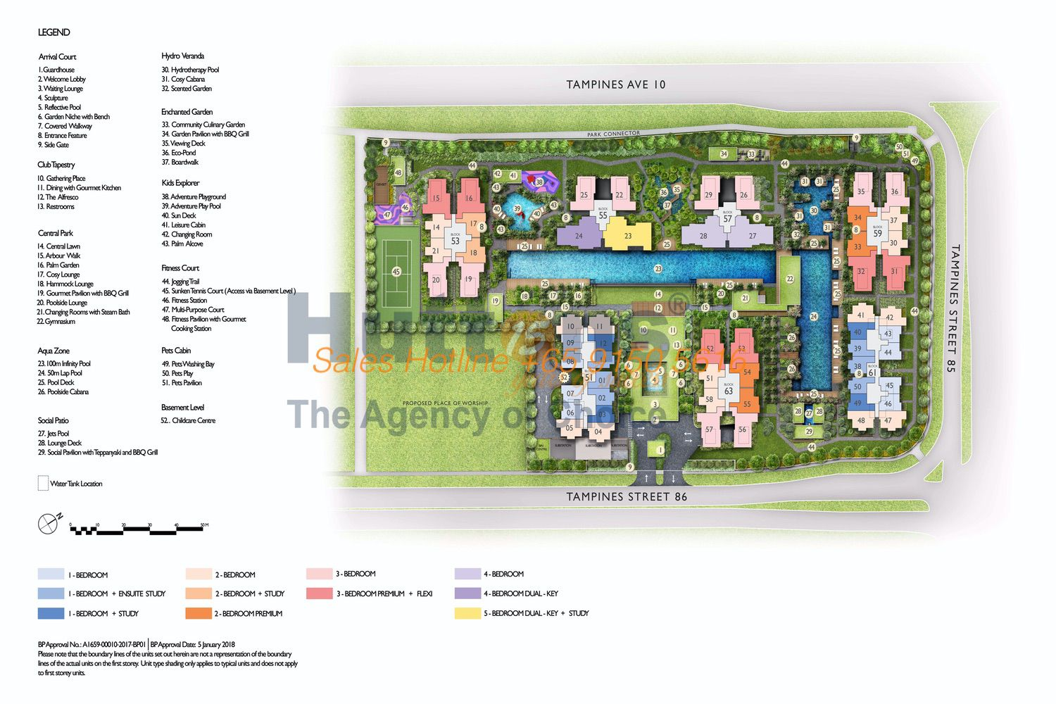 The Tapestry - Site Plan