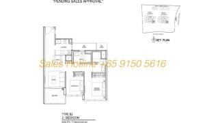 Thomson Impressions Floor Plan - 2 Bedroom Type B2