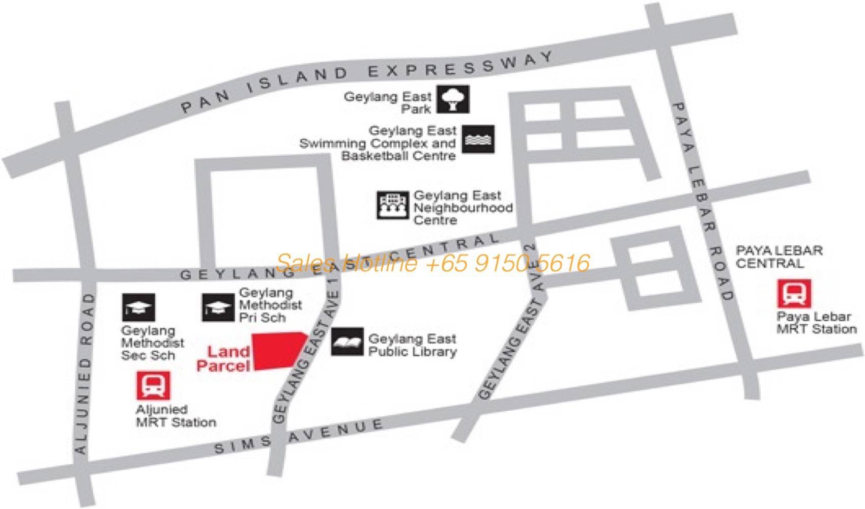 Tre Residences - Location Map
