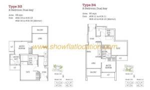 Trilive Floor Plan - 2 Bedroom Dualkey 2