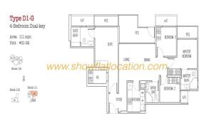 Trilive Floor Plan - 4 Bedroom Dualkey