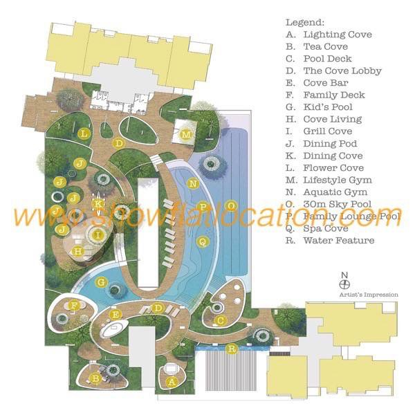 Trilive Site Plan - Cove Living @ Level 4