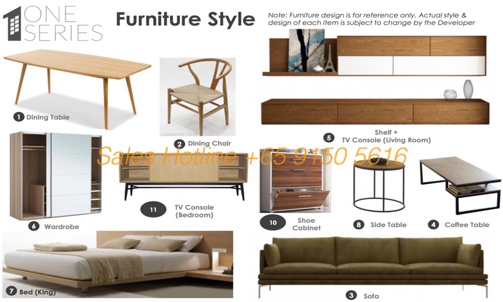 Vista Verde One Series Furniture style