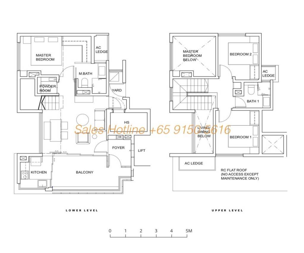 Five Nine Condo Floor Plan - Type C2
