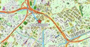 Jui Residences Location Map