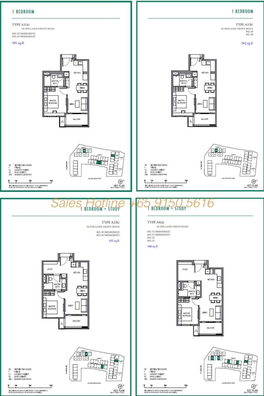 Parksuites Condo Floor Plan 1